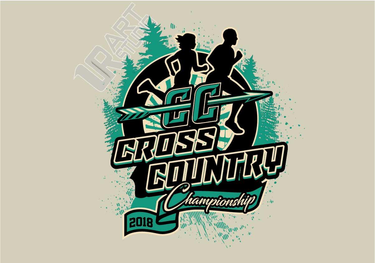 cross country 2018 championship 3rd logo