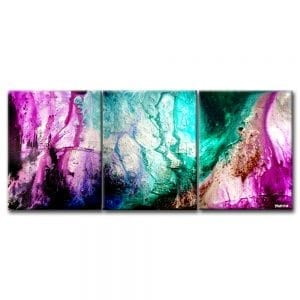 Dance of Flowers ABSTRACT PAINTING