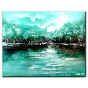 EPIC POEM landscape painting