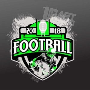 FOOTBALL 2018 VECTOR LOGO DESIGN DOWNLOAD