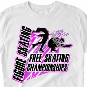 FREE SKATING CHAMPIONSHIP FIGURE SKATING 2018