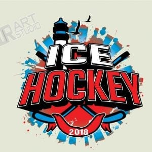 ICE HOCKEY 2018 lighthouse LOGO