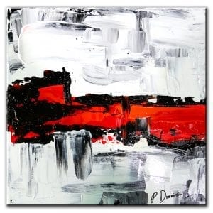 Infrared, original abstract painting