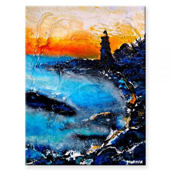 Light From a Distance, LANDSCAPE SEASCAPE PAINTING