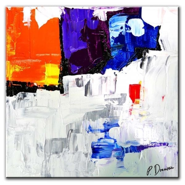 RECEIVING END, ABSTRACT PAINTINGRECEIVING END, ABSTRACT PAINTING