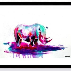 RHINO ACRYLIC WATERCOLOR PAINTING PAPER