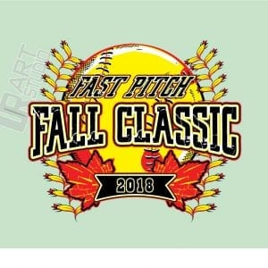 SOFTBALL FAST PITCH FALL CLASSIC 2018 LOGO