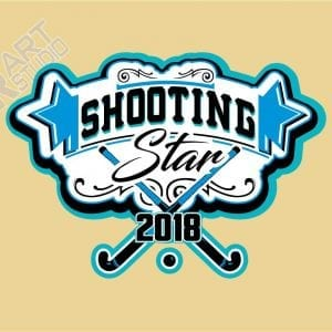 Shooting Star Field Hockey logo 2018