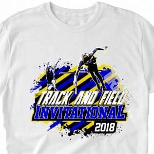 TRACK AND FIELD INVITATIONAL 2018, VECTOR DOWNLOAD