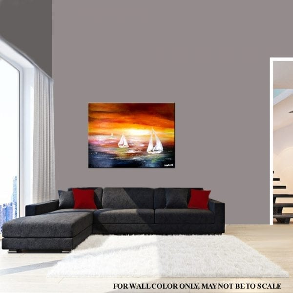 WINDFINDER, seascape painting