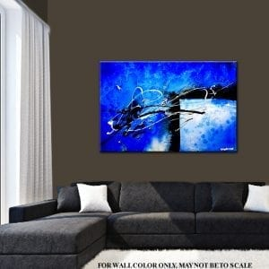 ABSTRACT DIMENSIONS, abstract painting by Peter Dranitsin