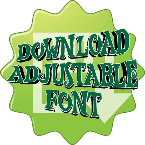 DOWNLOAD FREE ADJUSTABLE FONT