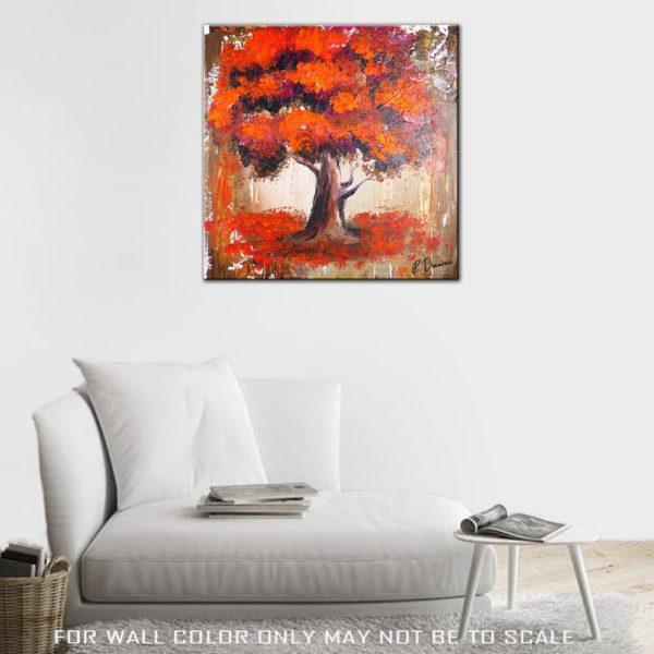 MAGENTA ORANGE TREE