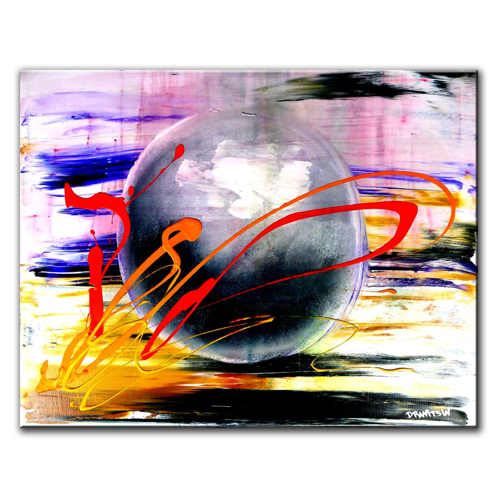 MODERN VIEWPOINT, ABSTRACT PAINTING BY DRANITSIN