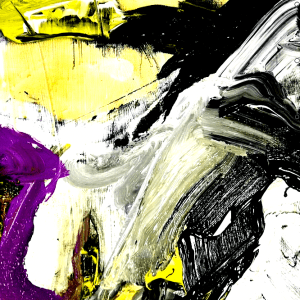 ABSTRACT PAINTING FREE STYLE, GO WITH THE FLOW PART 2