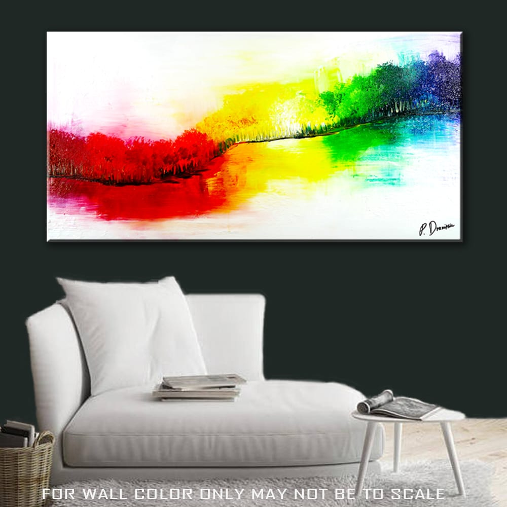 Display your painting in a virtual room, change background colors, choose from variety of different rooms, adjust your painting in side the virtual room, add more canvas panels in the same room, generate images of your painting in virtual room in jpg and png.