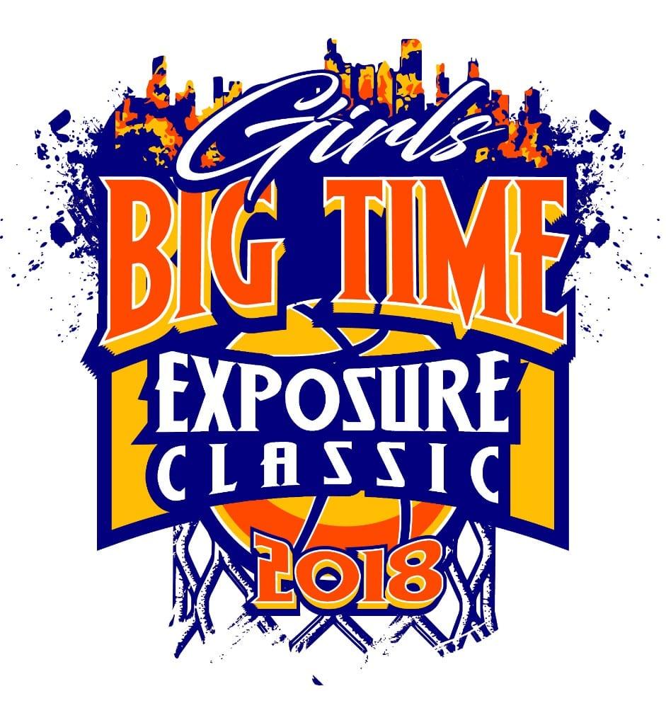 GIRLS-BIG-TIME-EXPOSURE-CLASSIC-BASKETBALL-2018-adjustable-t-shirt-logo-design-1