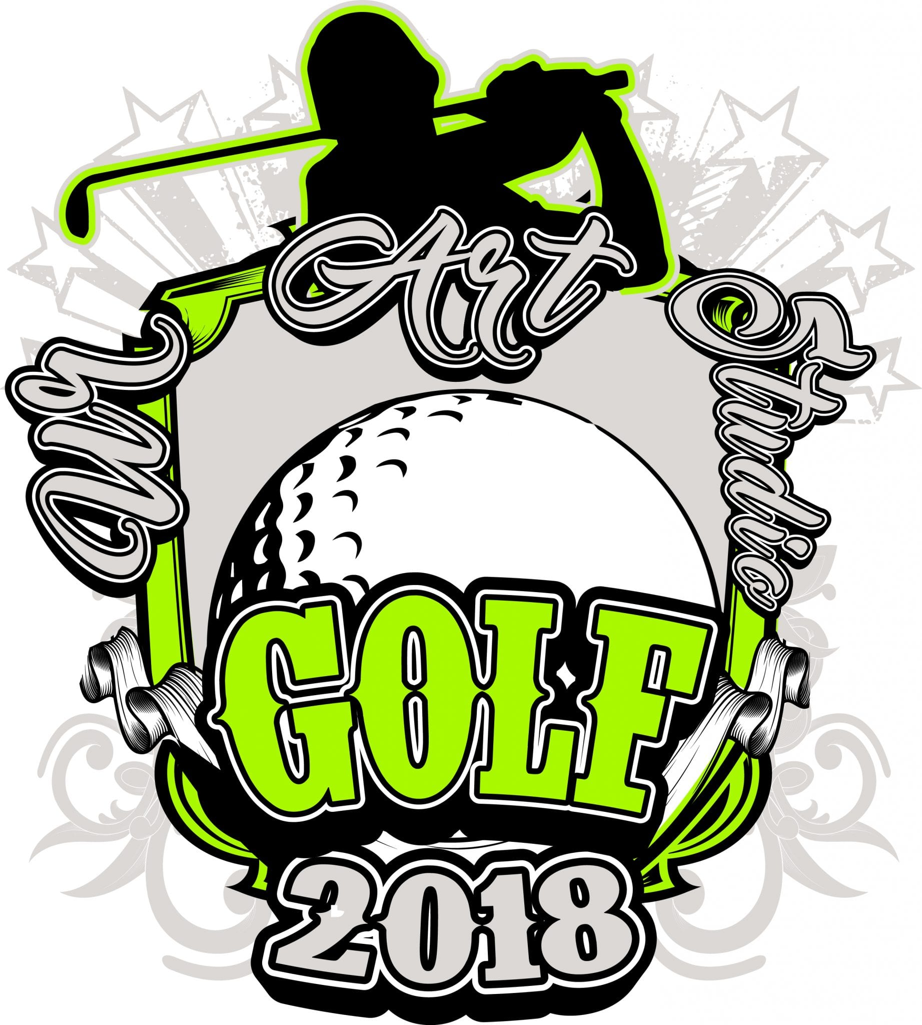 GOLF-2018-t-shirt-vector-logo-design-for-print