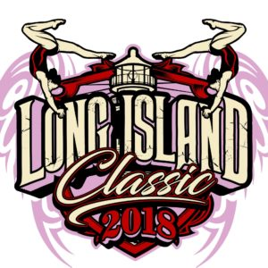 GYMNASTICS-LONG-ISLAND-CLASSIC-t-shirt-vector-logo-design-for-print-1