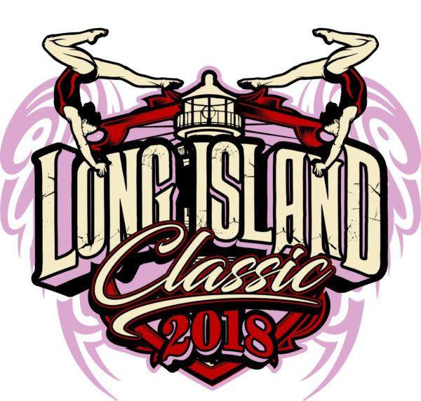 GYMNASTICS-LONG-ISLAND-CLASSIC-t-shirt-vector-logo-design-for-print-1