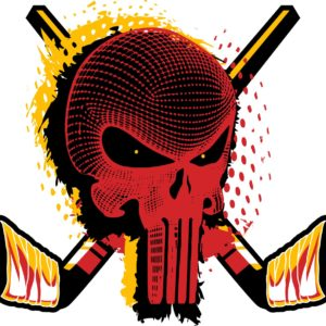 HOCKEY-SKULL-t-shirt-vector-logo-design-for-print