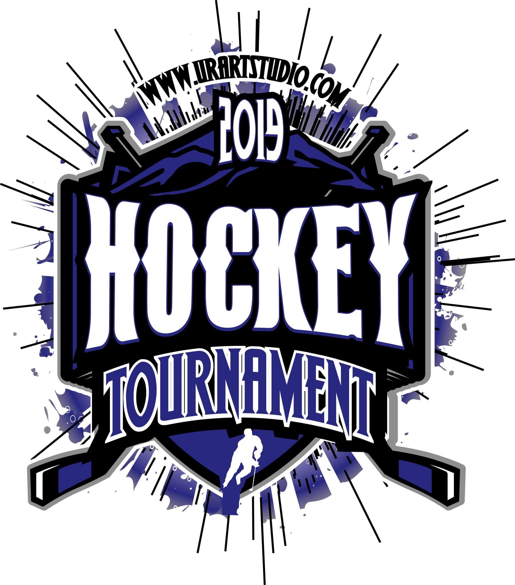 Hockey Tournament 2019 T Shirt Vector Logo Design For Print