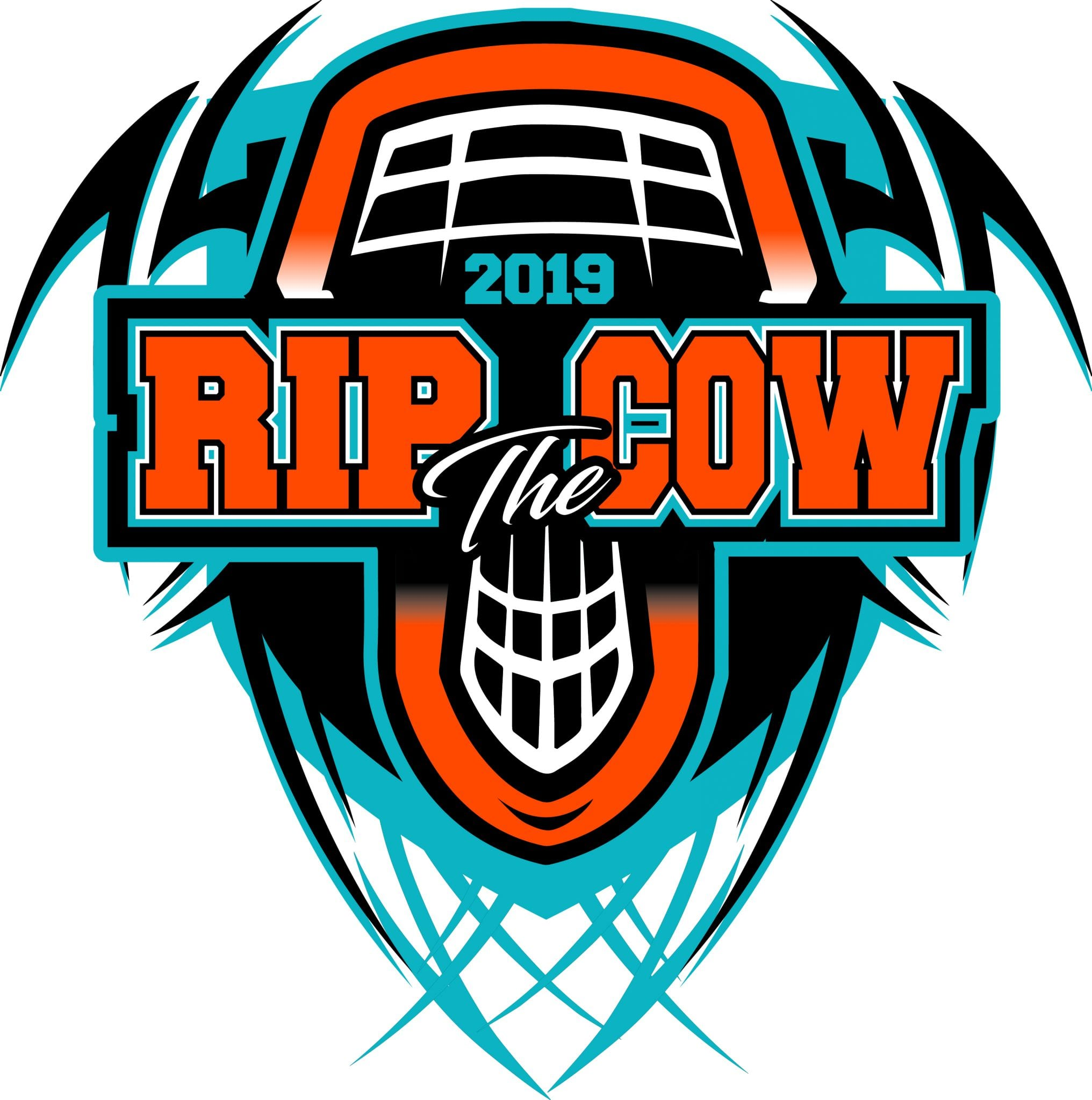 on sale online elegant appearance reasonable price LACROSSE RIP the COW 2019 T-shirt vector logo design for print