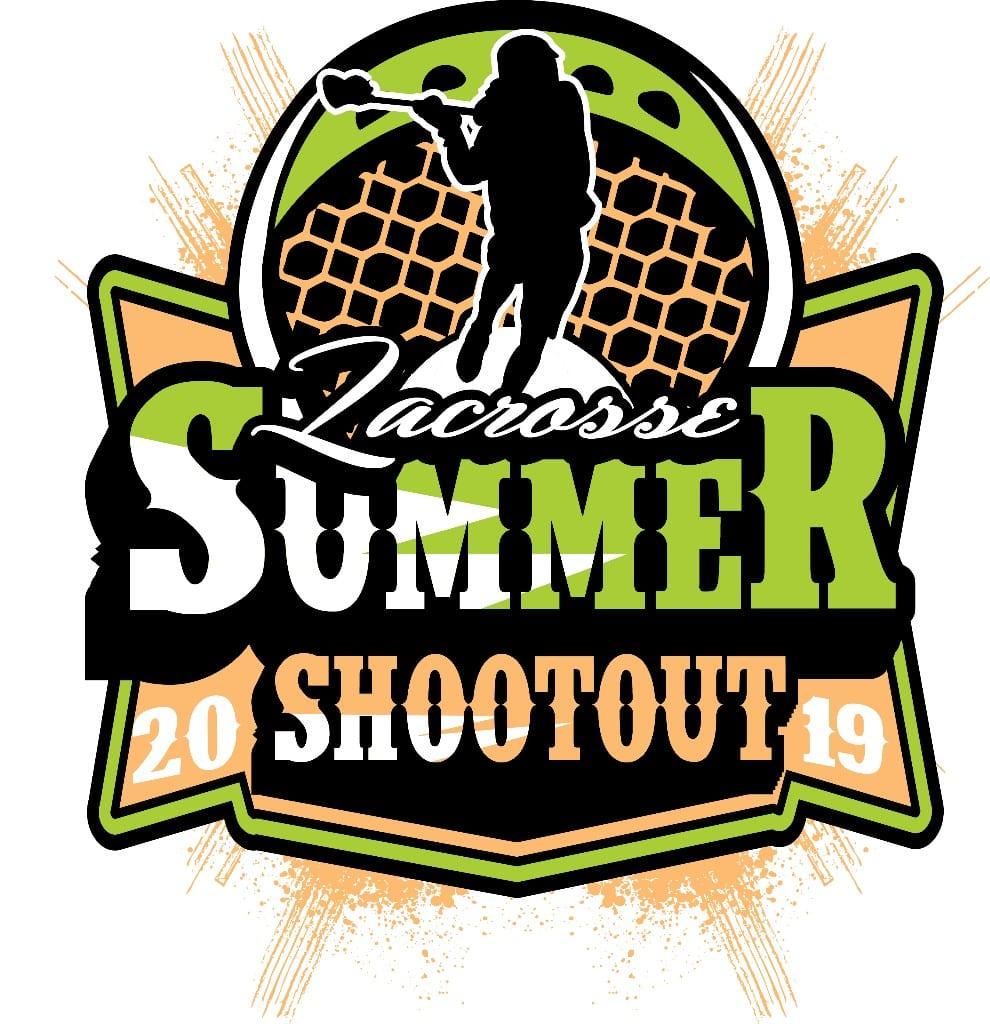 LACROSSE SUMMER SHOOTOUT 2019 T-shirt vector logo design for print