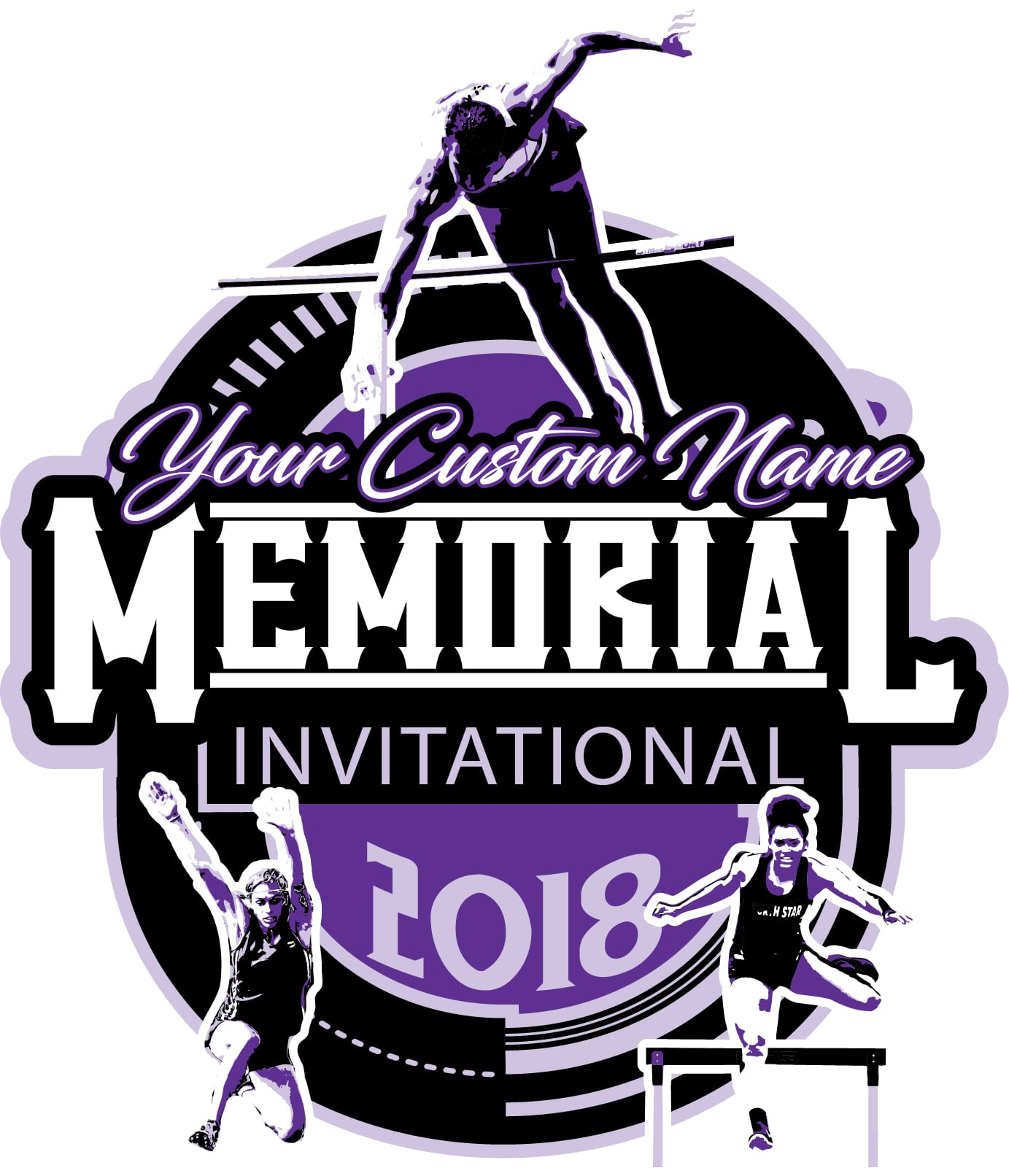 MEMORIAL-TRACK-AND-FIELD-INVITATIONAL-2018-adjustable-t-shirt-logo-design