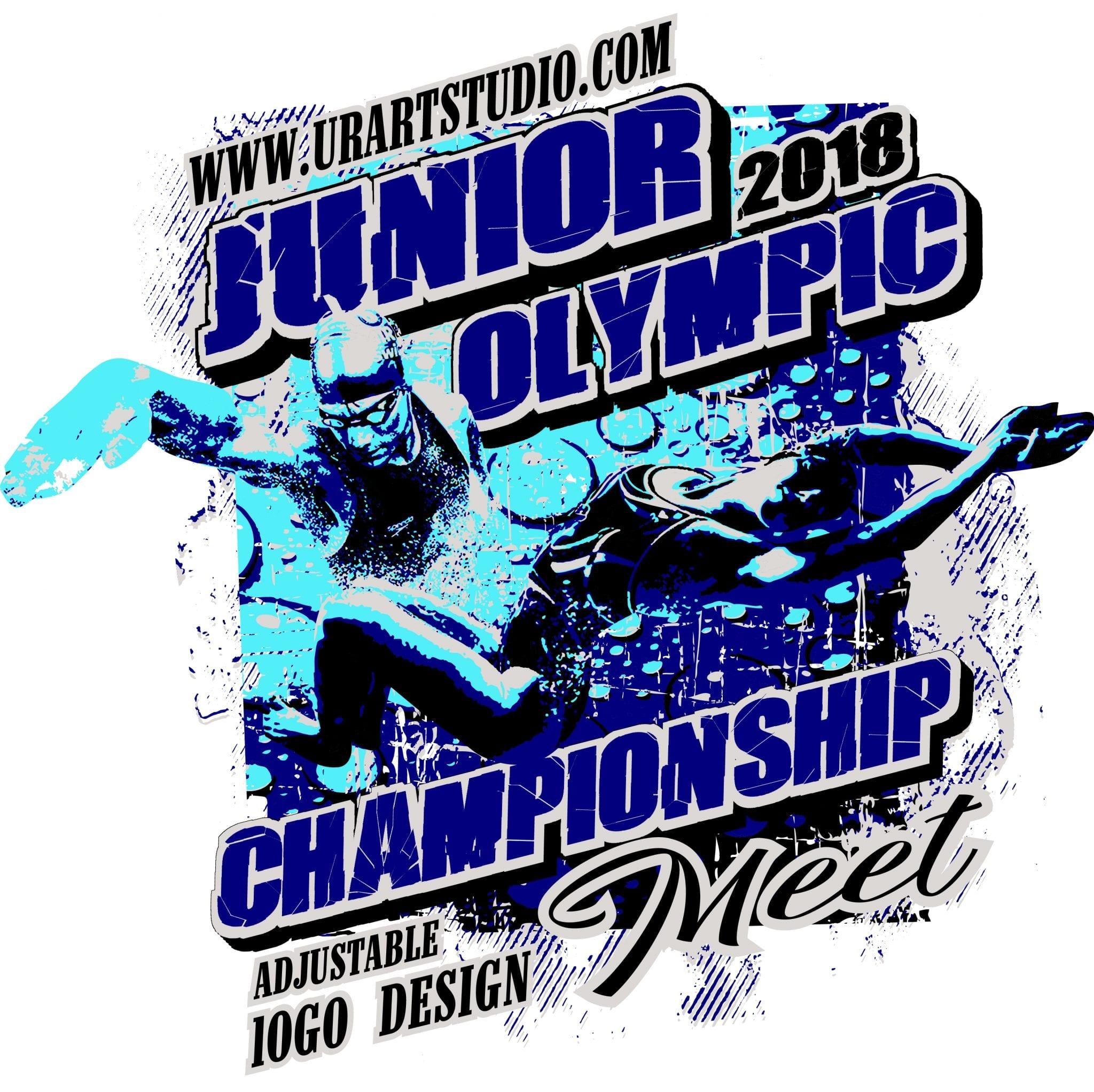 Swimming Junior Olympic Championship Meet 2018 T Shirt