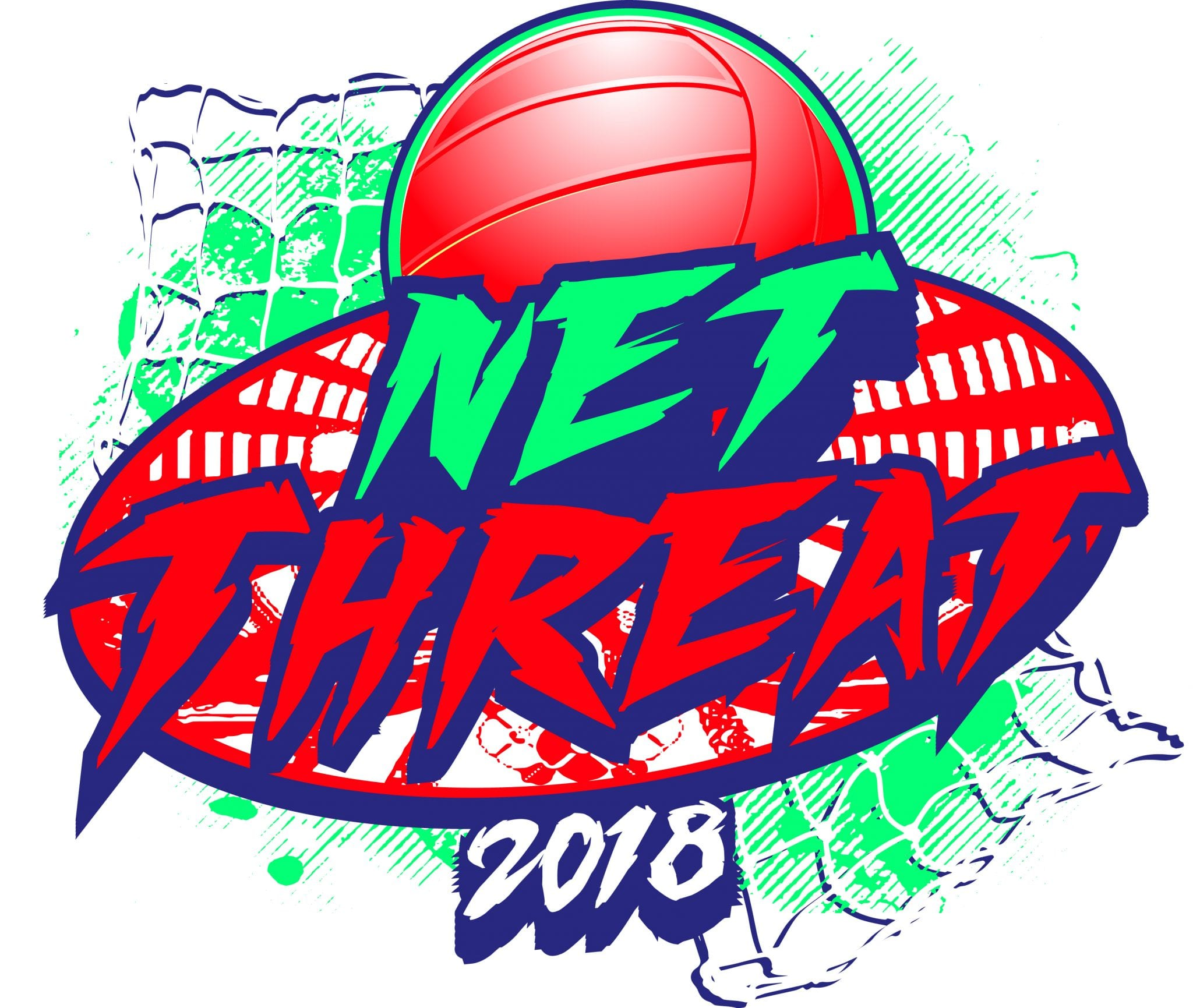 VOLLEYBALL-NET-THREAT-2018-t-shirt-vector-logo-design-for-print-1