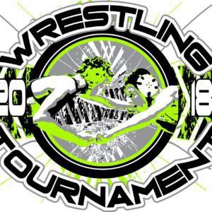 WRESTLING-TOURNAMENT-2018-adjustable-t-shirt-logo-design