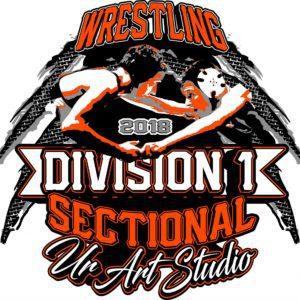 wrestling-division-1-sectional-2018-t-shirt-vector-logo-design-for-print-1
