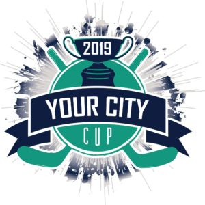 CUSTOMIZABLE HOCKEY CUP 2019 T-shirt vector logo design for print