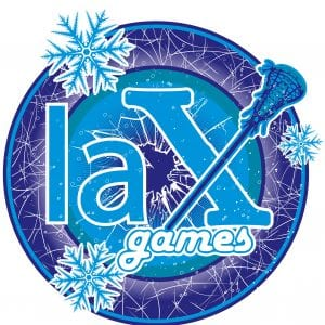 LAX GAMES T-shirt vector logo design for print