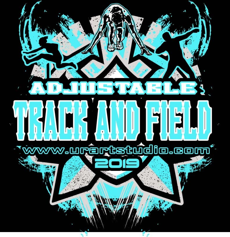 Track And Field Artwork Logo Design Vector Ai Format For