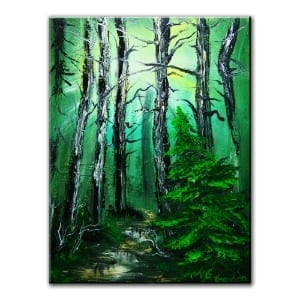 TRAIL, original painting by Dranitsin