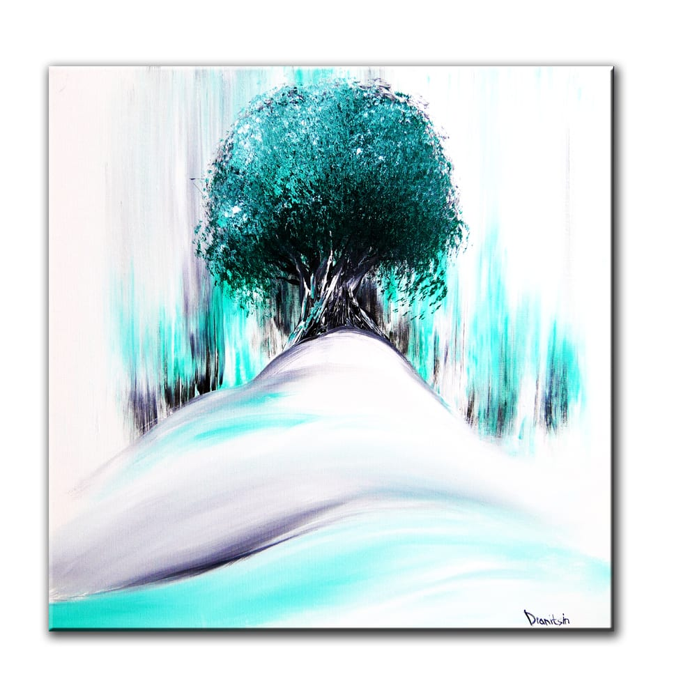 ANCIENT TREE, original painting by Dranitsin