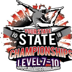 GYMNASTICS-STATE-CHAMPIONSHIP-TSHIRT-VECTOR-LOGO-DESIGN-DOWNLOAD
