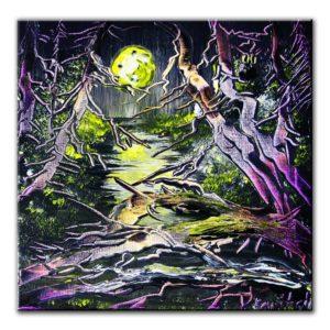 HALLOWEEN, original painting by Dranitsin
