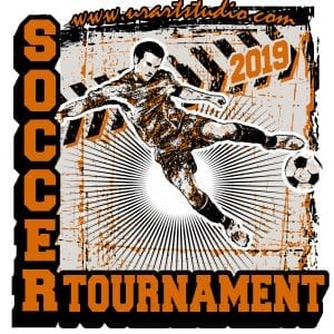 2019-SOCCER-TOURNAMENT-customizable-T-shirt-vector-logo-design-for-print