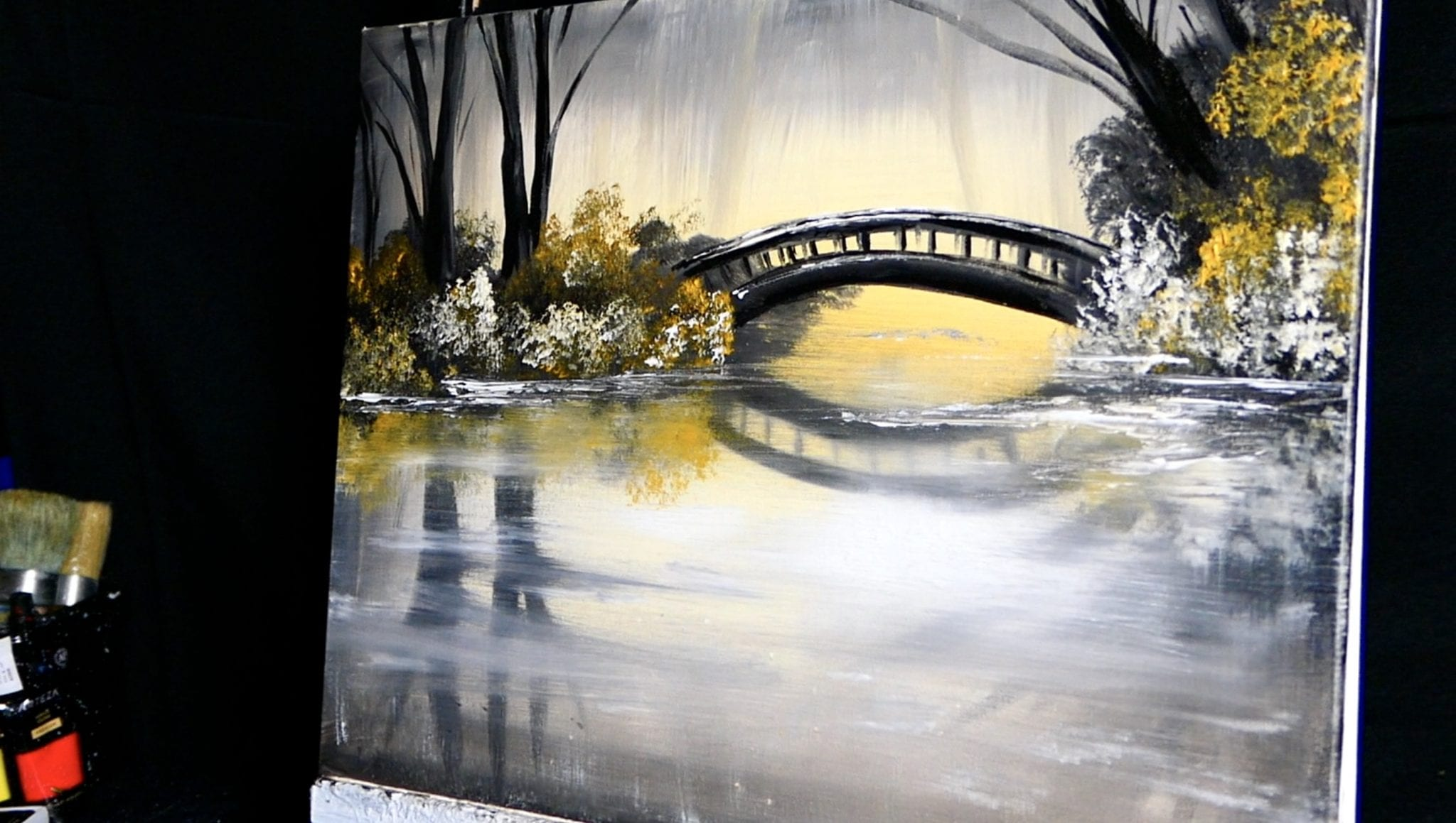 Golden Bridge Urartstudio Logos Paintings Art Lessons