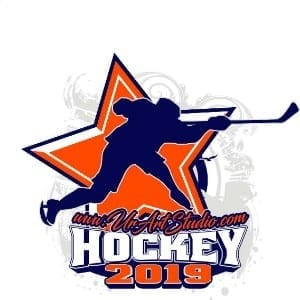 HOCKEY ADJUSTABLE LOGO DESIGN 001