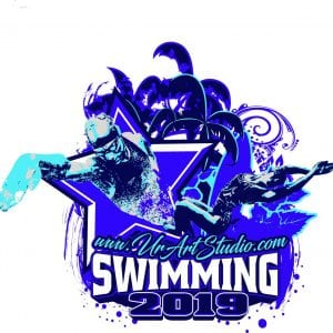 SWIMMING ADJUSTABLE LOGO DESIGN 001