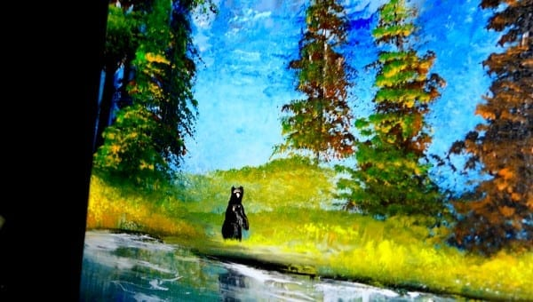BEAR-COUNTRY-ACRYLIC-PAINTING-TECHNIQUES-DRANITSIN2