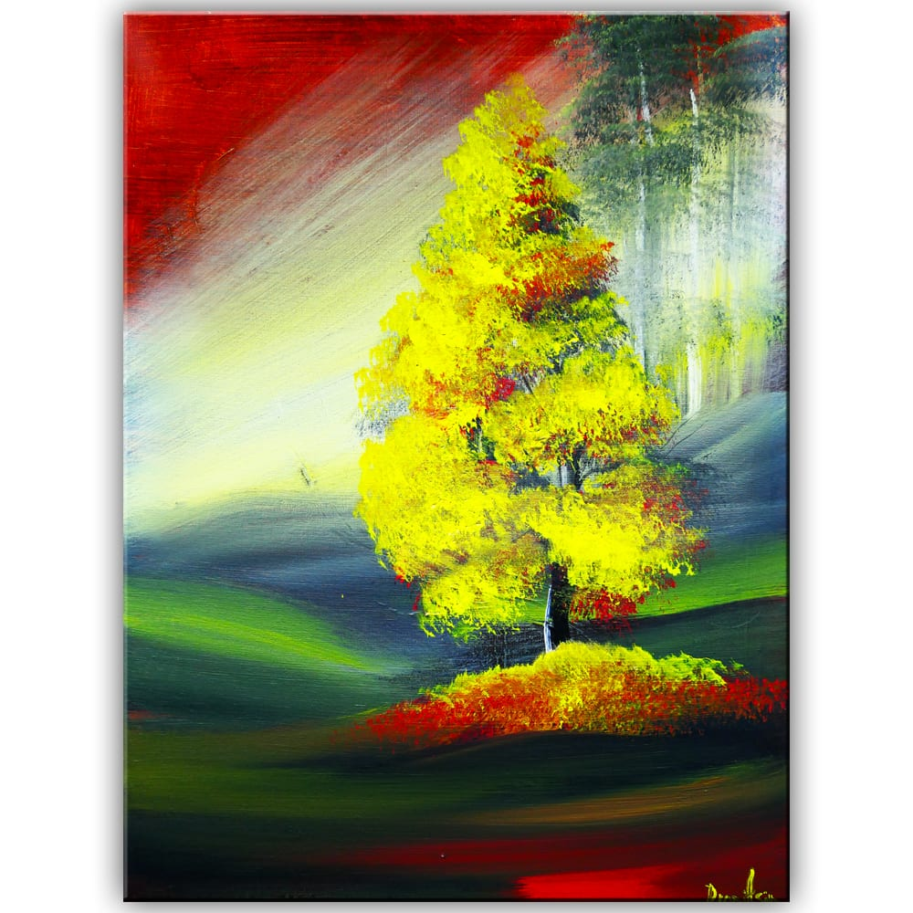 ORIGINAL PAINTING BY DRANITSIN GOLDEN AUTUMN