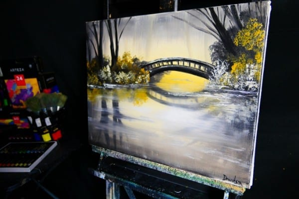 GOLDEN-BRIDGE-SIDE-VIEW-ORIGINAL-PAINTING-BY-DRANITSIN