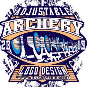 ARCHERY VECTOR LOGO DESIGN FOR PRINT AI EPS PDF 603