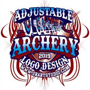 ARCHERY VECTOR LOGO DESIGN FOR PRINT AI EPS PDF 602