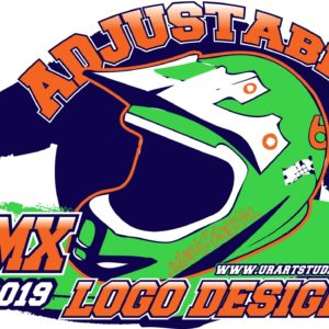 BMX VECTOR LOGO DESIGN FOR PRINT AI EPS PDF 502
